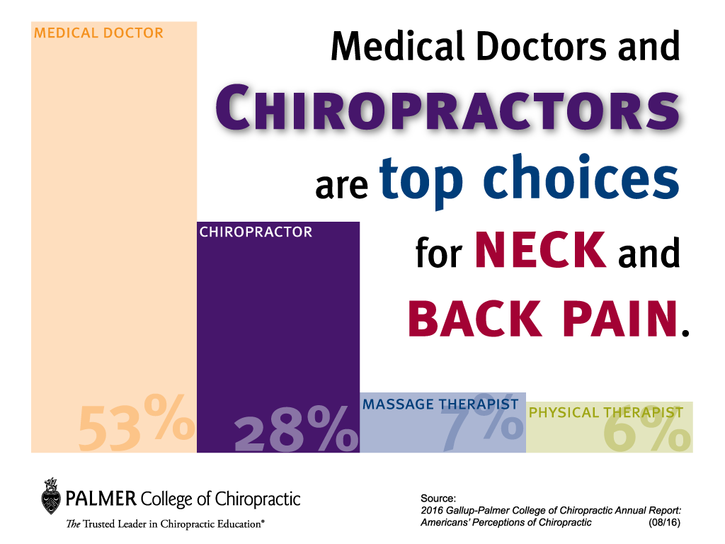 Chiropractors are the top Choice